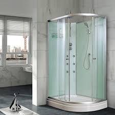 Non Glass Shower Doors Model B05 1200mm Quadrant Shower Cubicle Non Steam Enclosure Bath