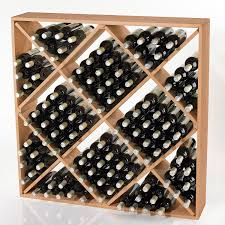 jumbo bin 120 bottle wine rack wine enthusiast