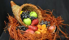 how to craft your own cornucopia centerpiece for thanksgiving day