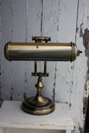 Vintage Brass Table Lamps Brass Swing Arm Desk Lamp Foter