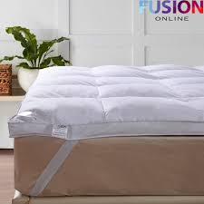 Goose Down Feather Bed Topper Fusion Online