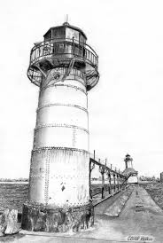 traditional lighthouse drawing u2013 images free download