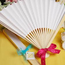 fan favors paper fans