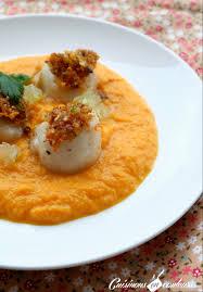 cuisiner des st jacques noix de jacques aux agrumes et émulsion de carottes