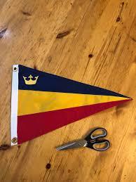 Custom Burgee Flags Qsailing Fundraising Update Queen U0027s University Sailing Team