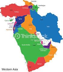 iraq map vector western asia map vector thinkstock