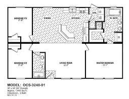 Oak Creek Homes Floor Plans 32x40 House Plans Homeca