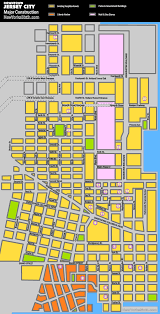 Map Of Jersey City New Yorks Sixth Photoblog