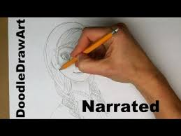 drawing draw anna frozen narrated fan