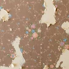 how to easily apply paint over hard to remove wallpaper drywall