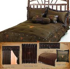Western Duvet Covers Longhorn With Barbwire Western Bedding Cabin Place