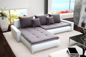 Modern Corner Sofa Bed Sofa Cado Leather Pu Fabric Living Room Contemporary Corner