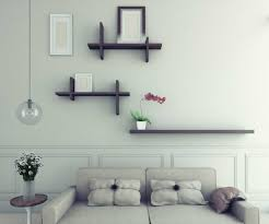 cheap decorating ideas for living room walls with simple design