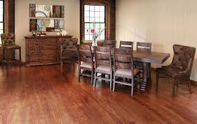 Dining Table And Fabric Chairs Bradley U0027s Furniture Etc Utah Rustic Furniture And Mattresses