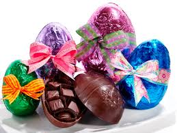 filled easter eggs vintage chocolate eggs li lac chocolates