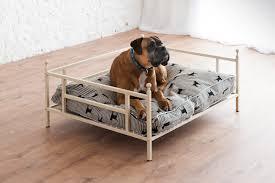 wrought iron dog bed george has new web site wrought iron