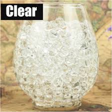 online get cheap water pearls clear aliexpress com alibaba group 1kg 100000pcs bag clear colors pearl shaped crystal soil water beads mud grow magic jelly balls home decor aqua soil wholesales