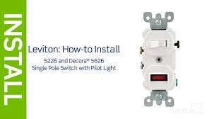 single pole switch pilot light wiring diagram the best wiring