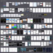 ios 9 3 uikit most up to date ios 9 3 ui kit for sketch and ai