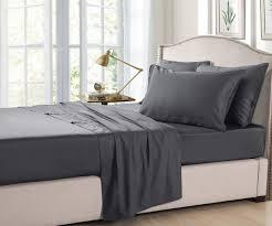 organic bamboo linen sheet set 350 thread count beddingco