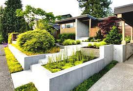 Modern House Front Front House Garden Modern Champsbahrain Com