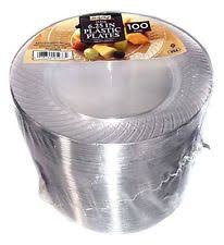 clear plastic plates daily chef 6 25inch plastic plates clear 100 count ebay