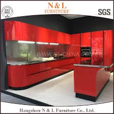 Commercial Kitchen Cabinet Commercial Kitchen Cabinet Suppliers - Red lacquer kitchen cabinets