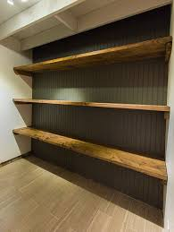 Wood For Shelves Making by Best 25 Wood Shelf Ideas On Pinterest Wood Floating Shelves