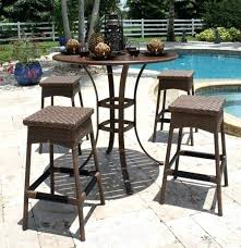 Bunnings Bar Table Outdoor Table And Stools Emmariversworks