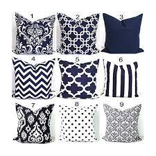 Navy Blue Decorative Pillows Amazon Com Navy Blue Pillow Cover Throw Pillow Cover Blue Throw