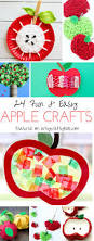 adorable apple crafts for kids arty crafty kids