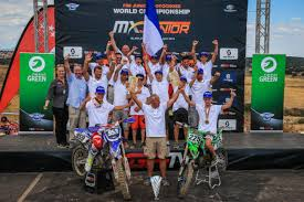 junior motocross racing team france wins fim junior motocross world championship racer x