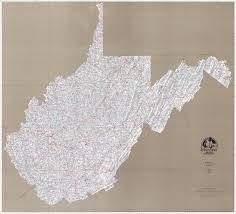 Map Of Virginia And West Virginia by Professor Higbee U0027s Stream U0026 Lake Maps