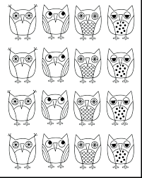 coloring pages of cartoon owls advanced pictures barn popular