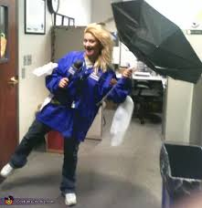 Storm Halloween Costume Weather Channel Reporter Storm Costume Easy Diy Costumes
