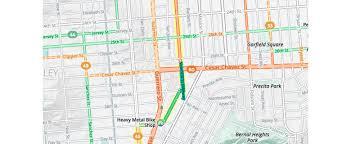 Bike Map Chicago by Bike To Work With Mapzen U0027s Updated Bike Map Mapzen