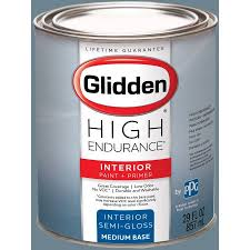glidden high endurance interior paint and primer stormy sky blue