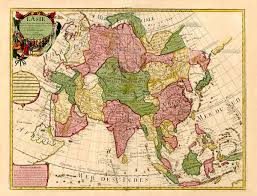 map asie map of asia