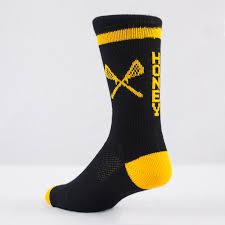 design custom lacrosse crew socks