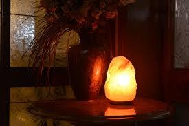 Himalayan Salt Lamp Energetic Lights Himalayan Salt Lamps As A Unique Decor Piece