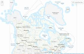 map of canada geogratis web services resources canada
