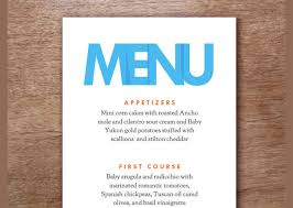 sle menu design templates event menu in psd