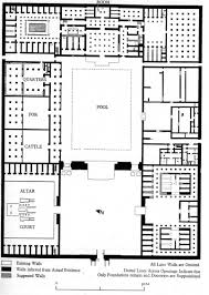 layout of the north palace of akhetaten el amarna 1360 b c the
