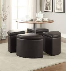 Furniture Of Living Room by Coffee Tables Exquisite Dark Brown Adjustable Heigh Round