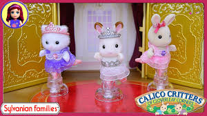 calico critters sylvanian families ballet theater ballerina