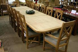 large round dining table for 12 large oak dining table seats 12 large oval century design oak dining