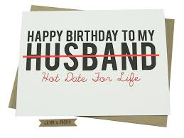Happy Birthday Husband Meme - husband birthday card loving funny for him hot sexy