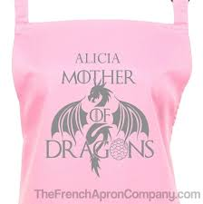 Custom Aprons For Men Buy Personalized Mother Of Dragons Apron Game Of Thrones At The