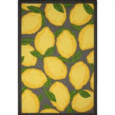 Yellow And Grey Kitchen Rugs Kitchen Extraordinary Lemon Kitchen Rug Threshold Lemon Rug