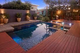 lighting around pool deck pool decking options ideas in australia